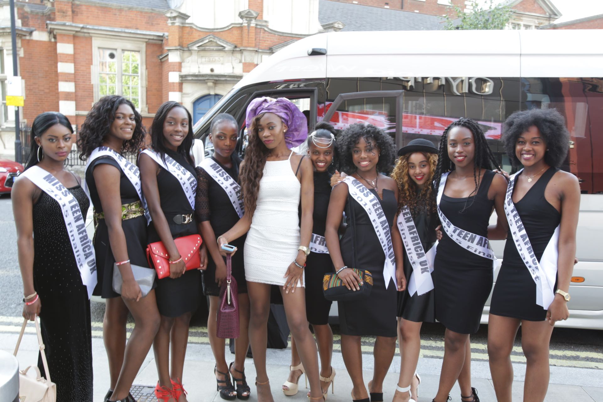 Miss Teen Africa finalist rocked Africa Fashion week London 2015